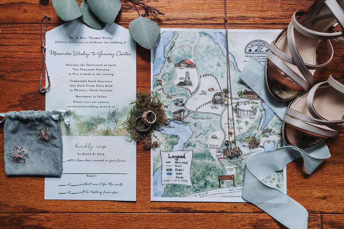 Miranda & Jeremy's Timberlake Earth Sanctuary Wedding