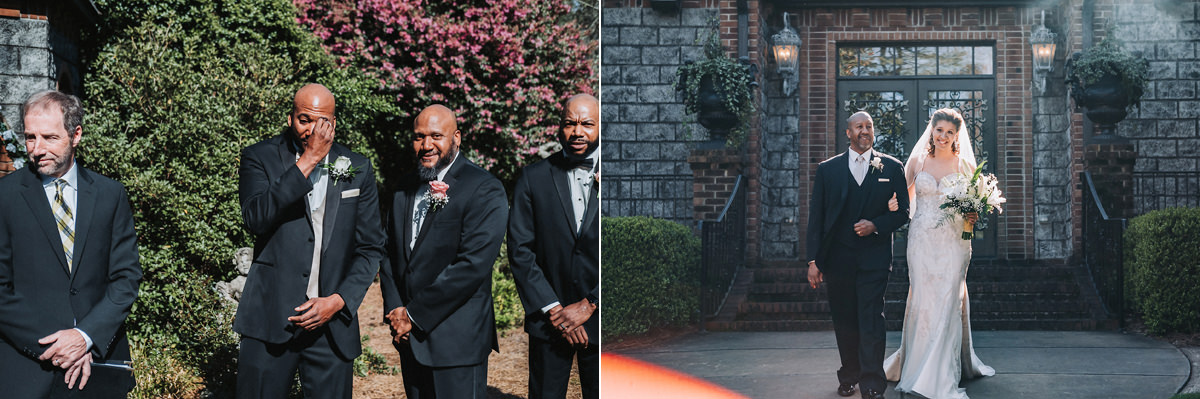Brooklyn & Cephus' Barclay Villa Wedding | Angier, NC