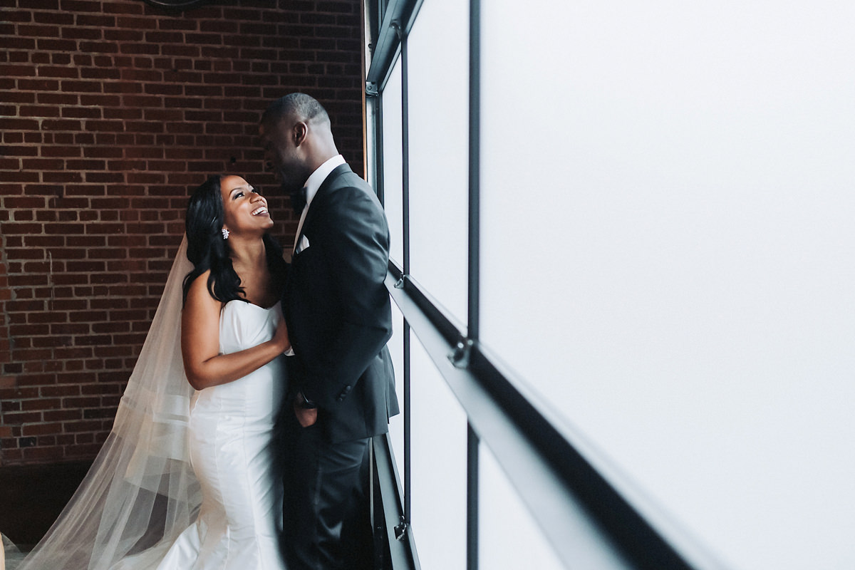 Bianca & Lonzell's The Cookery Wedding | Durham, NC