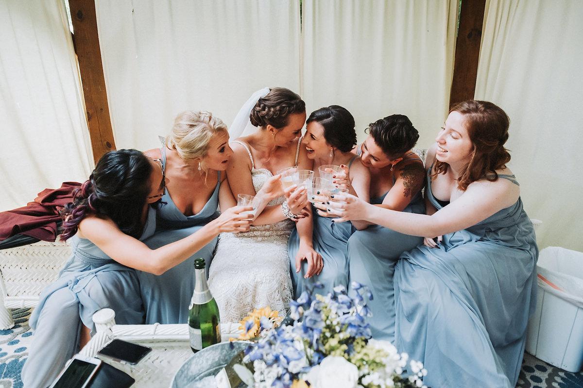 Brianna & Alex's Brahma Ridge Event Center Wedding | Asheville,