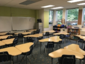 Setting up our classroom for the new school year!