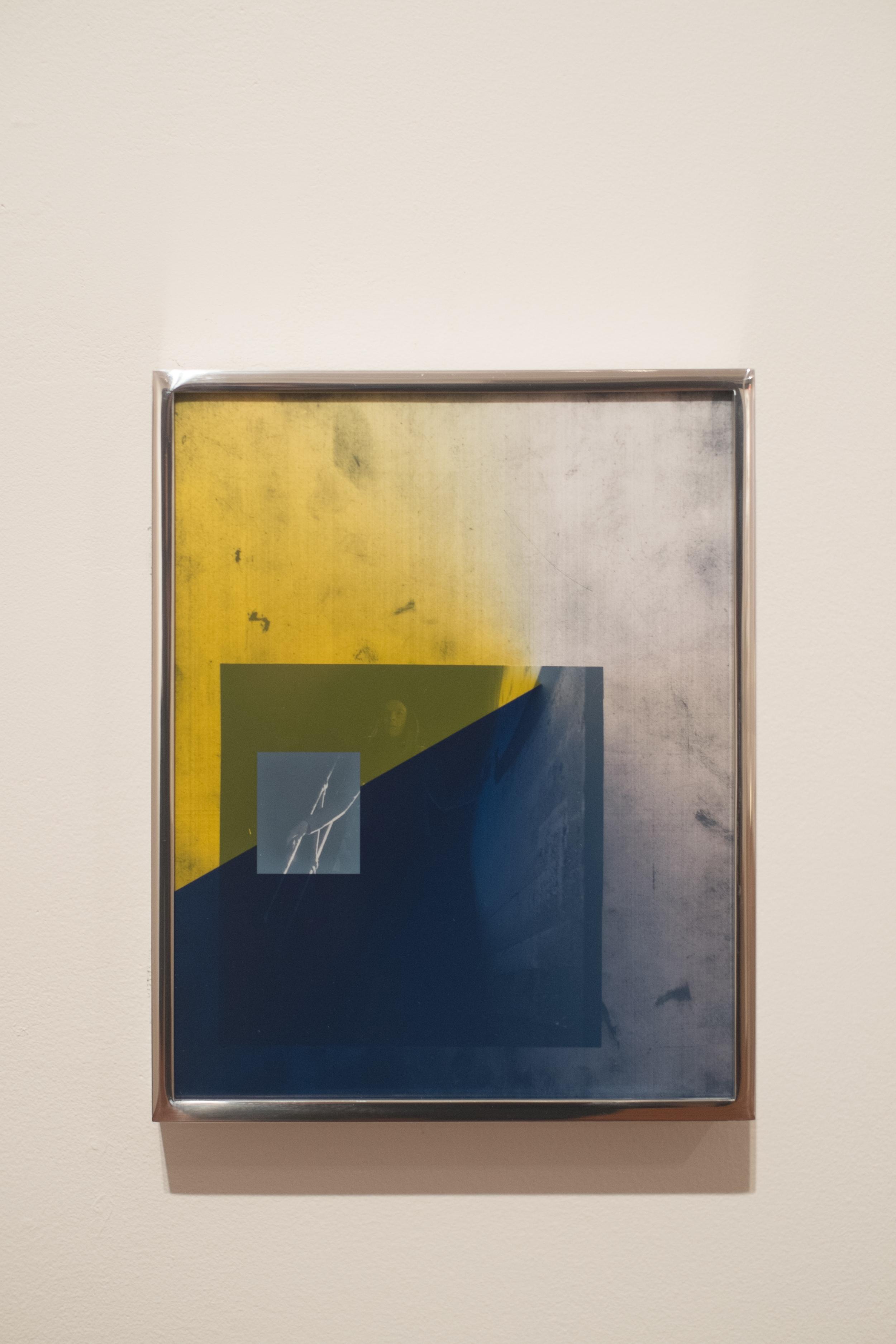Ivan Iannoli,   Hallie ,   2014      8 x 10 in.      Inkjet print on transparency, gelatin silver prints