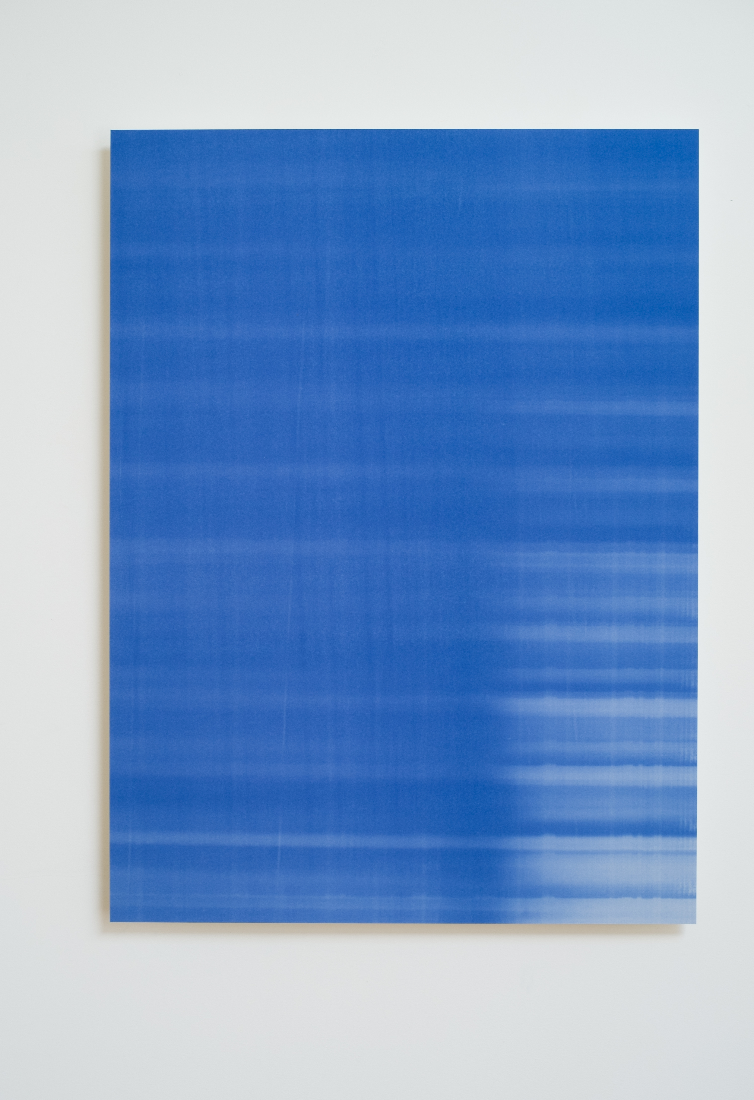 Luca Antonucci,   Blue Print,   2015.      32 ¾ x 44 in.     Blueprint