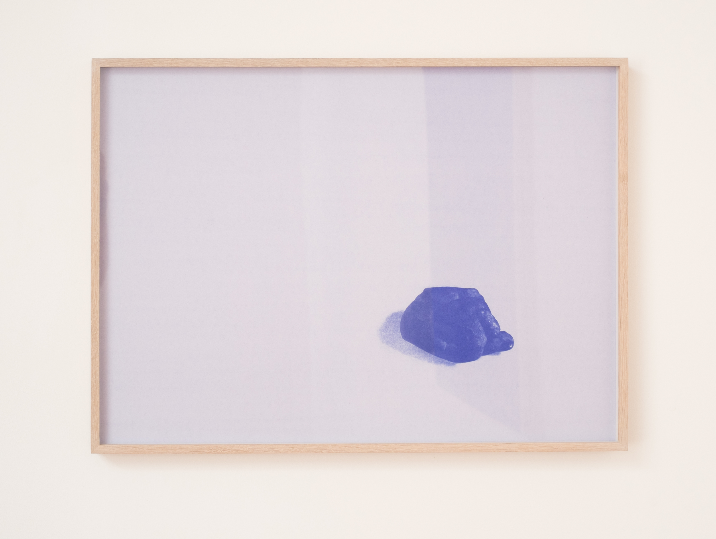 Luca Antonucci,  Bad Hand  , 2015.   30 ¼ x 22 in.   Blueprint