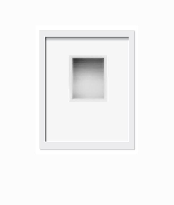 Sean McFarland,   Horizon Test  , 2015.     8 x 10 in.    3.25x4.35 inch print     Monochromatic Dye Diffusion Transfer Print      Unique