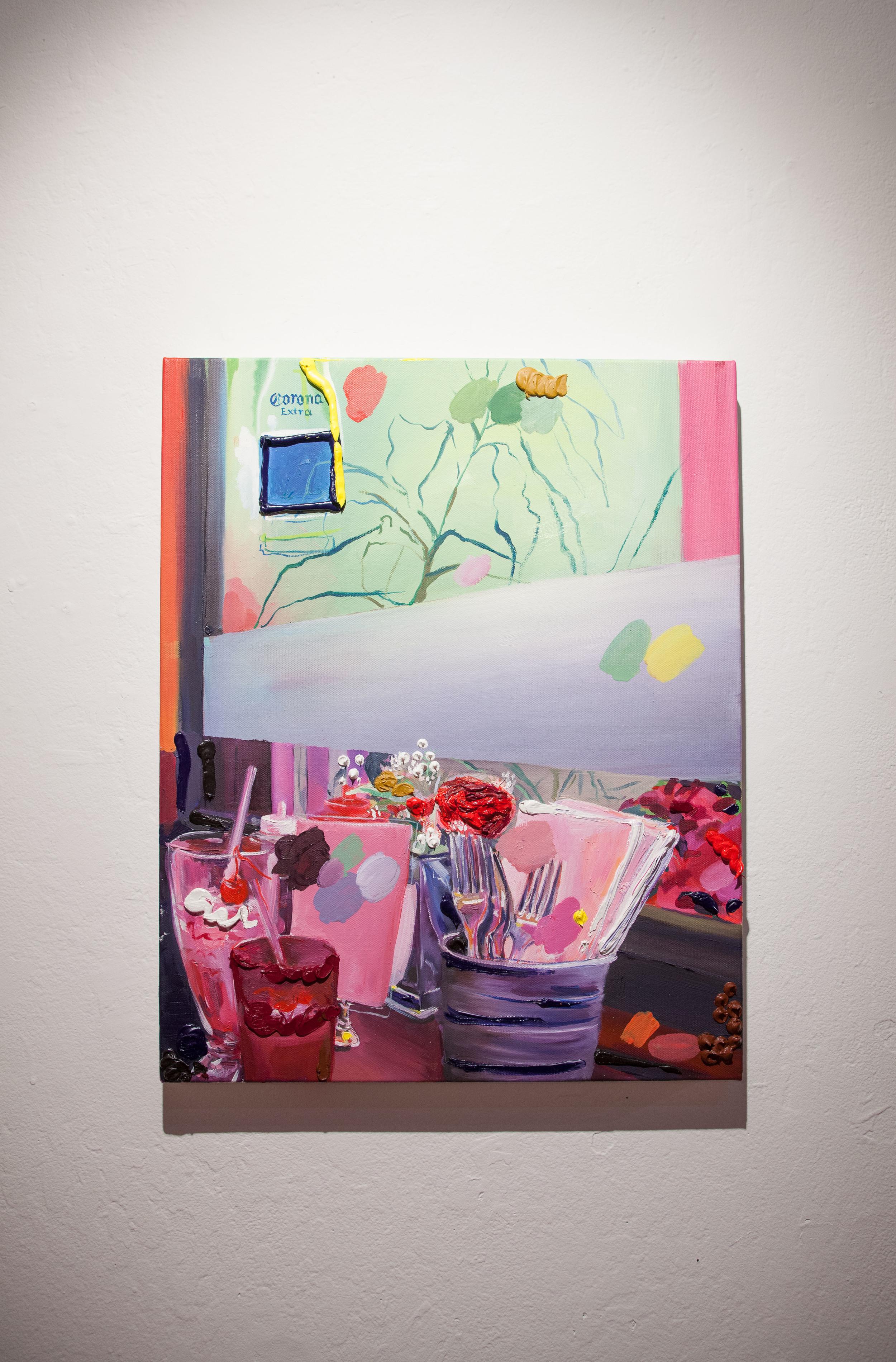 Delaney Lee,  Twelve , 2015  Oil on canvas, 16 x 20 in.