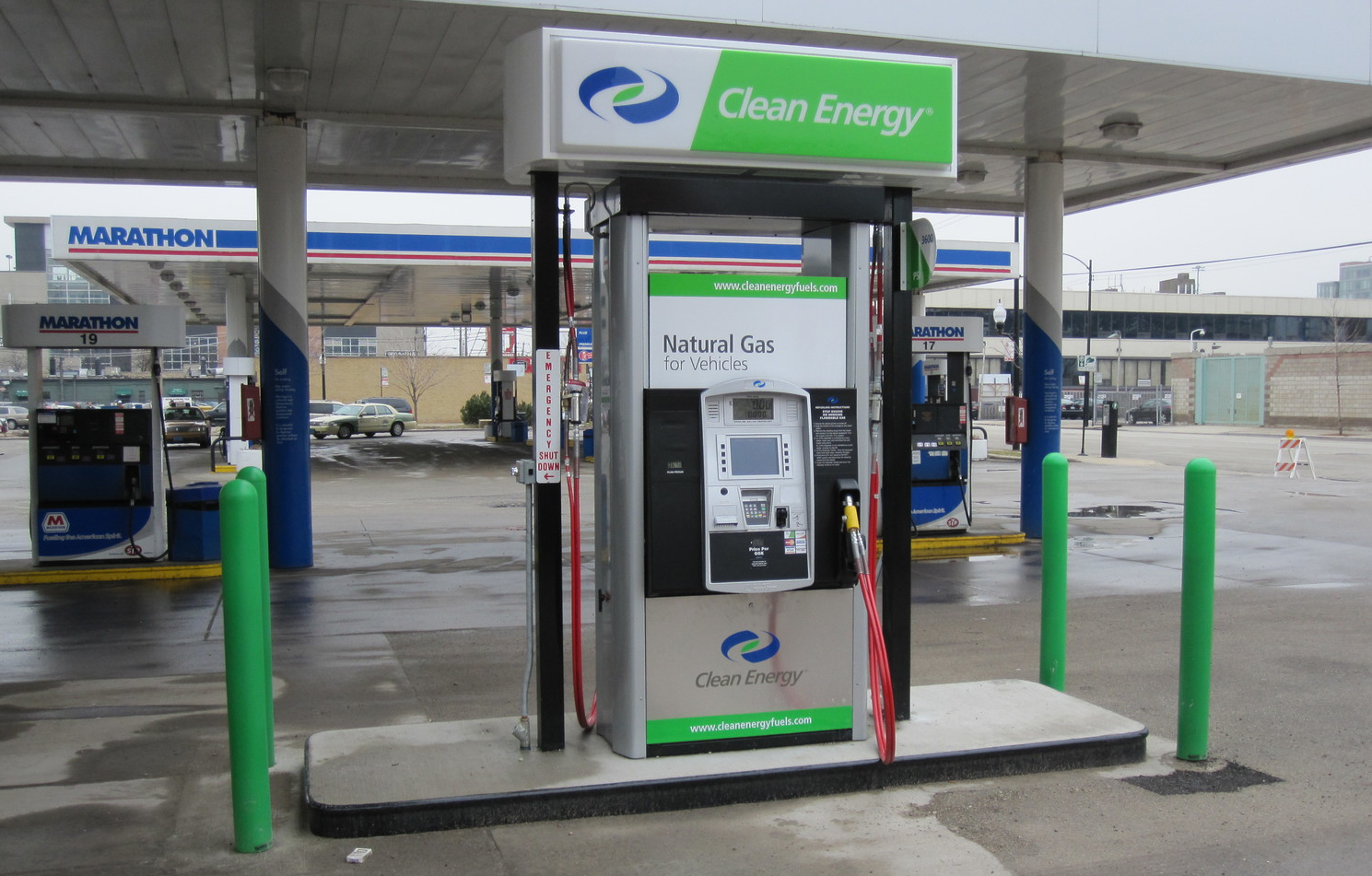 Fast-Fill CNG Station