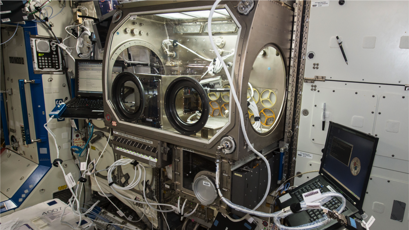 The first low-gravity 3D printing system is now fully operational on board the International Space Station. Image Credit: NASA