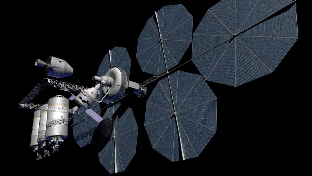 A concept for an orbital fueling depot. Image Credit: NASA