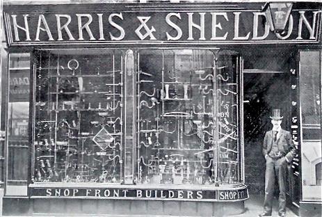 Harris and Sheldon Shopfitters, 1899