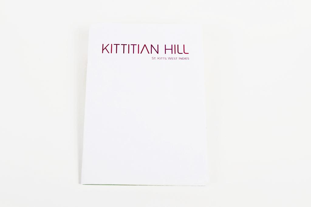Kittitian Hill promotional kit