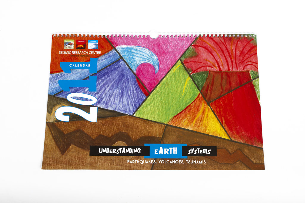 UWI Seismic Research Earth Day 2010 calendar