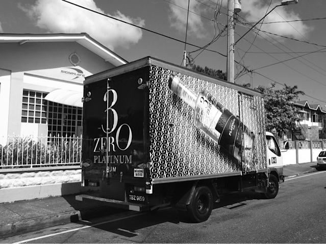 3ZERO Platinum delivery truck