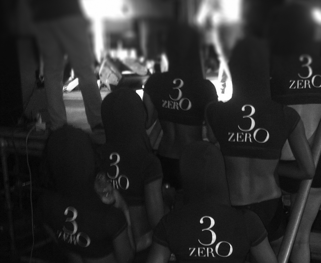 3ZERO Platinum branded wear