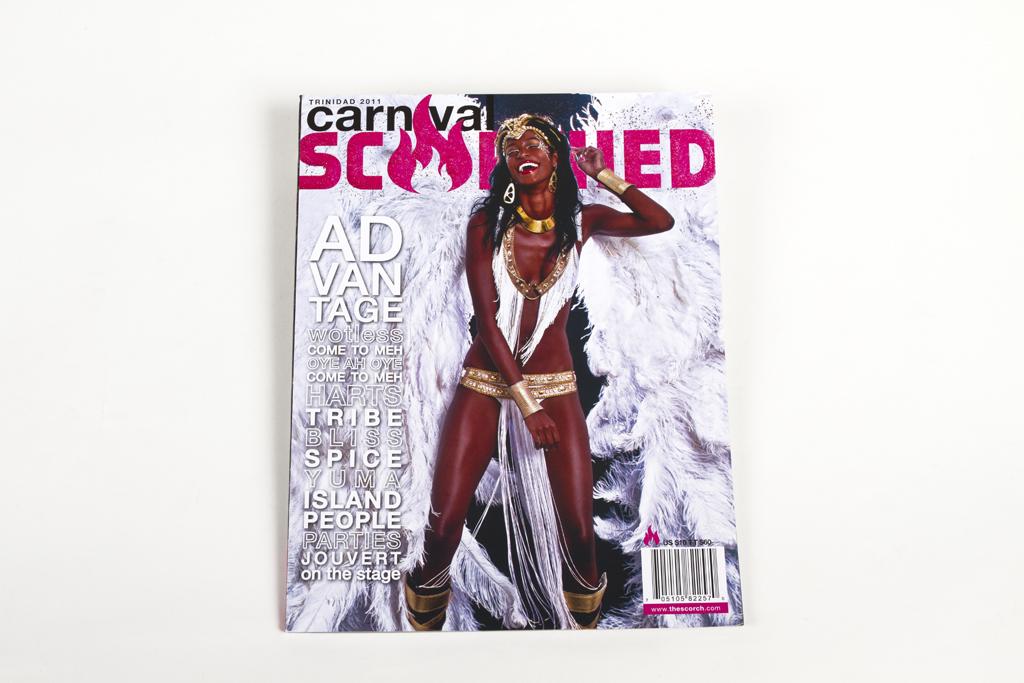 Carnival 'SCORCHED' 2011 magazine