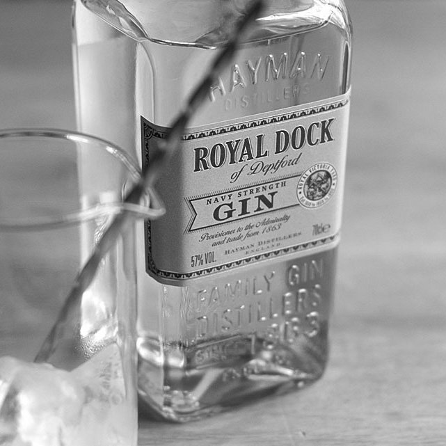ROYAL DOCK NAVY STRENGTH GIN  | England