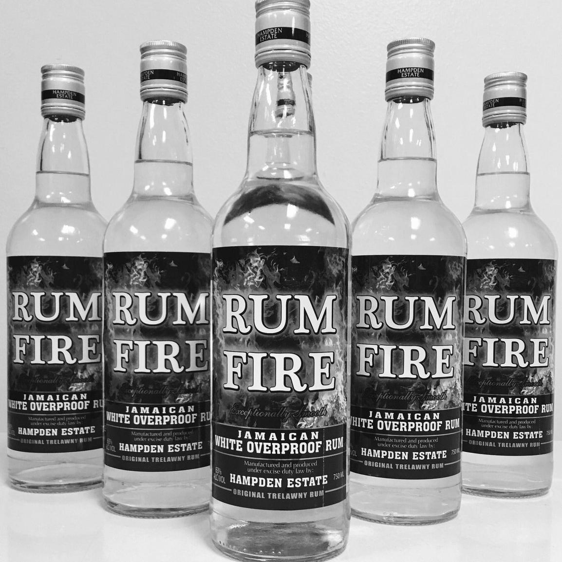 RUM FIRE WHITE OVERPROOF | Jamaxian