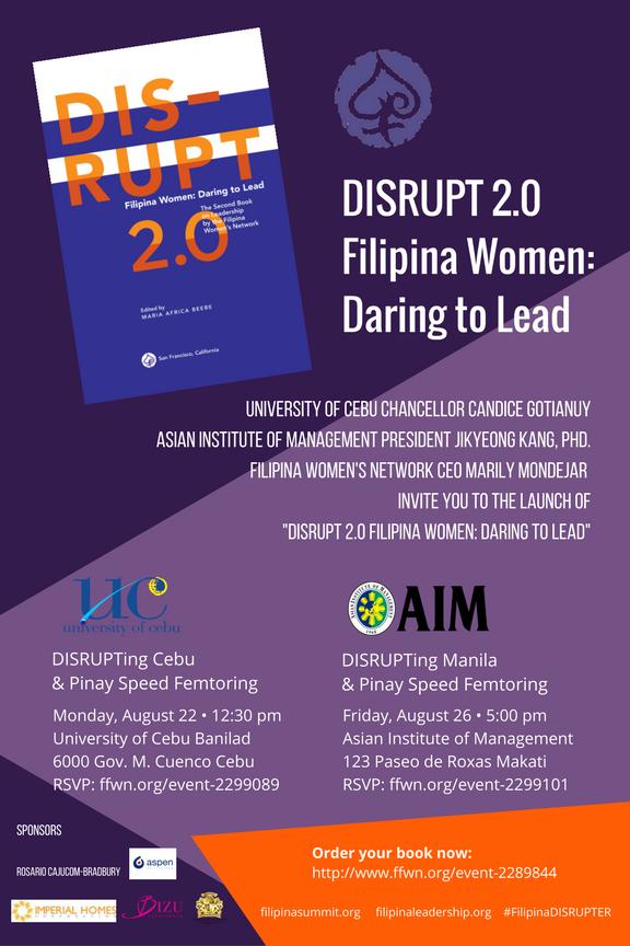 DISRUPT 2.0 Book Launch Invite 2016
