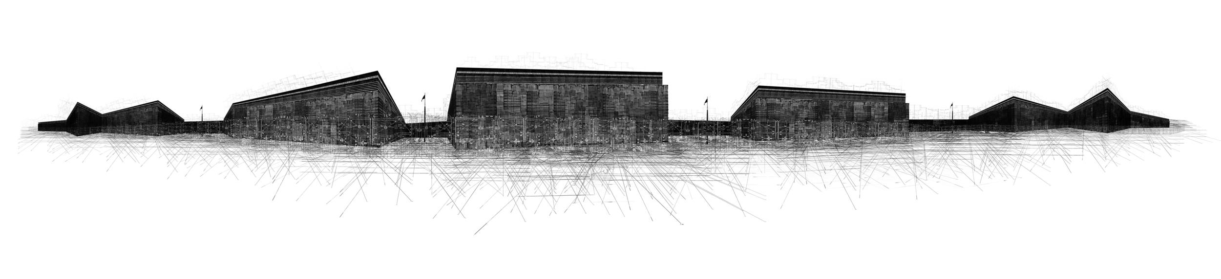 Colonium   2010  60 in. x 14 in.  archival inkjet print