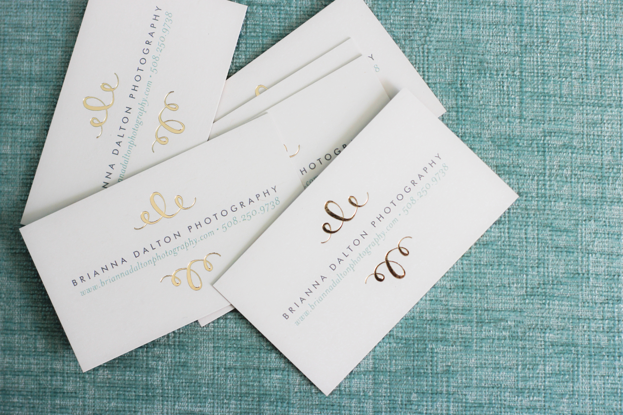 100% recycled sustainable business cards, courtesy of  Minted.com