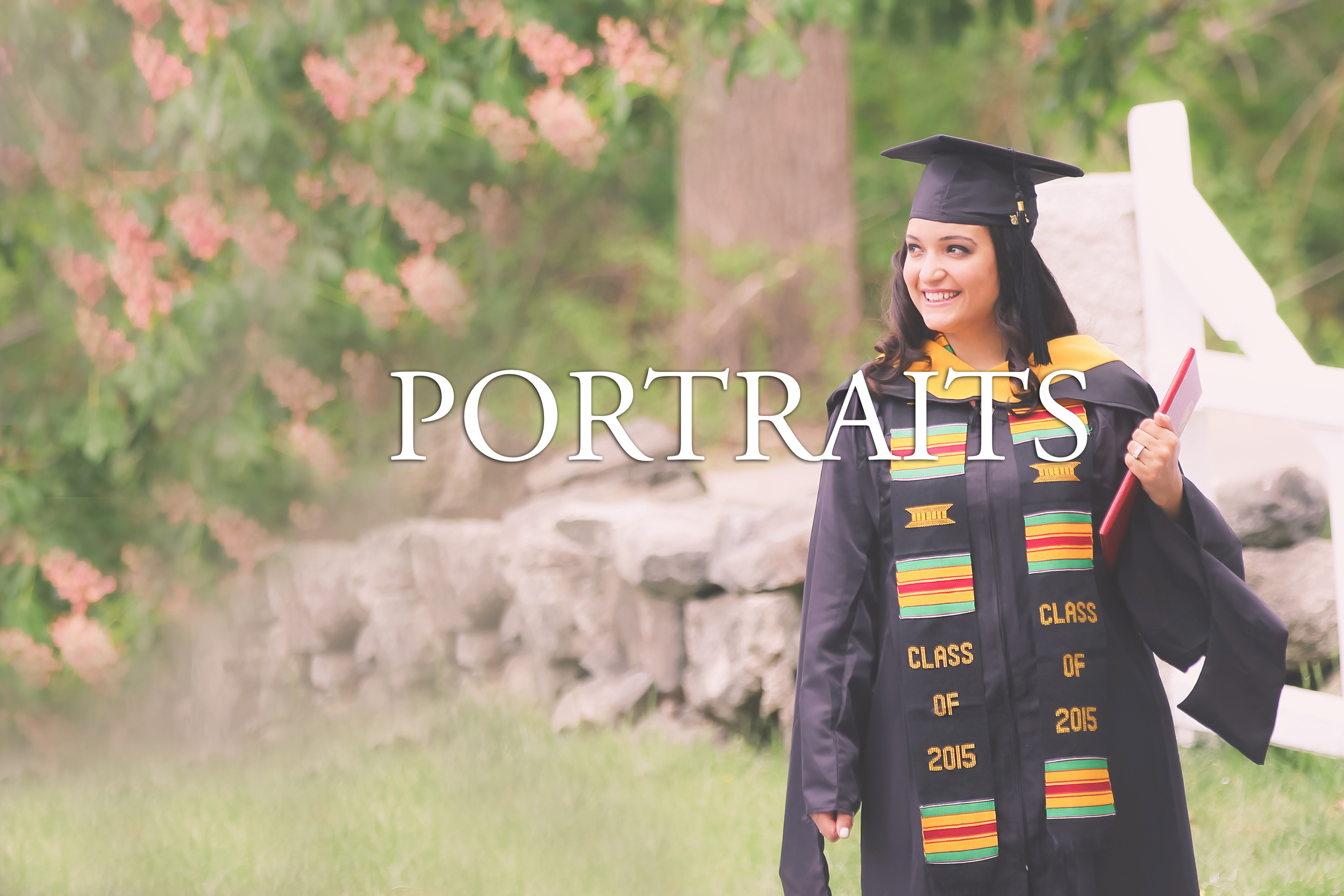 senior graduation portraits