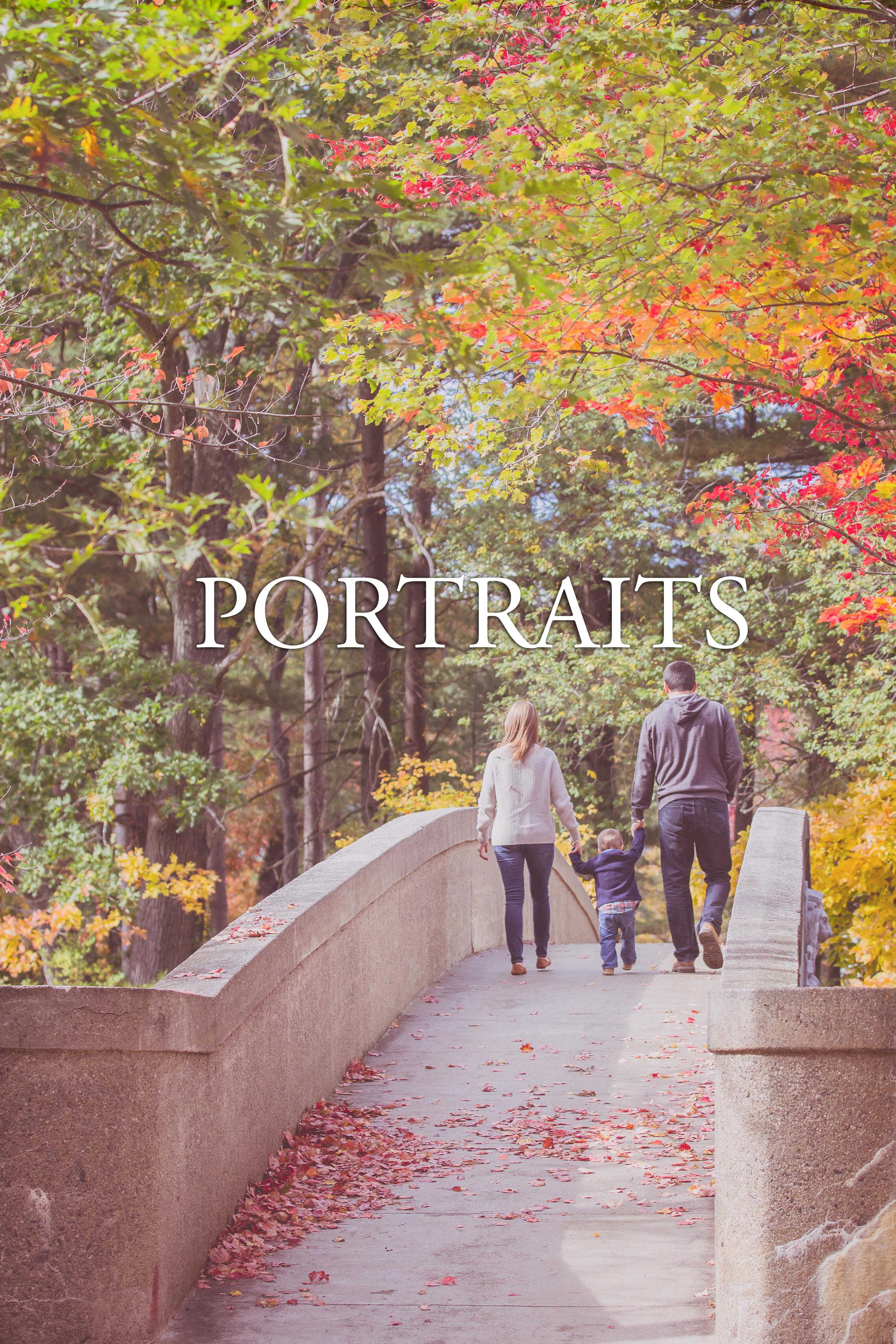 foliage portraits