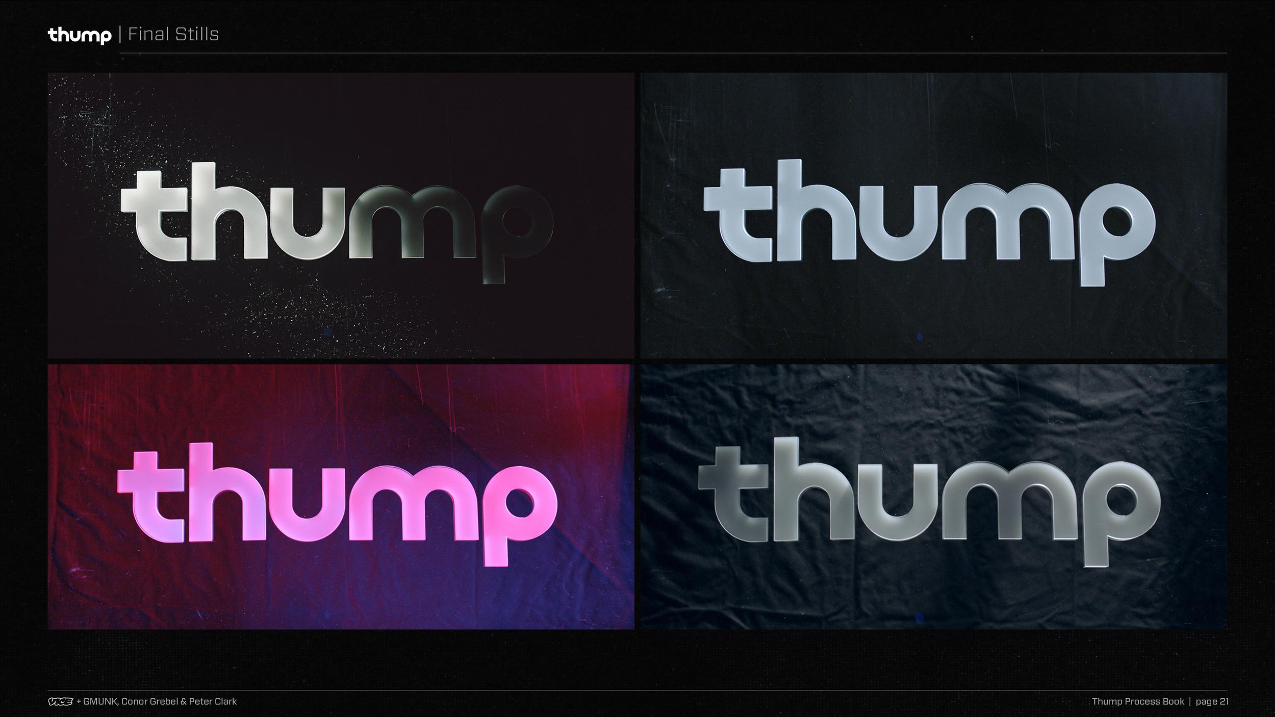 Thump   Process Book