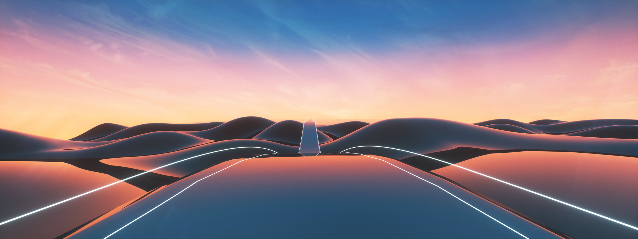 Acura Mood Roads by Peter Clark