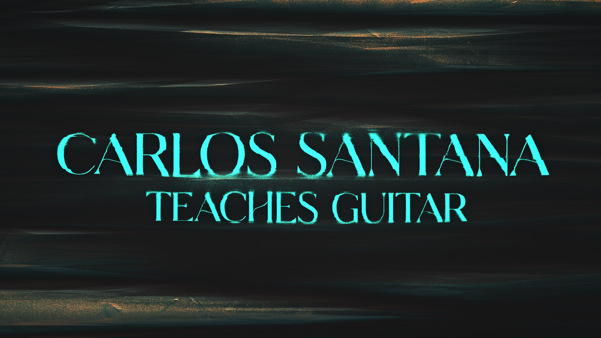 Carlos Santana Masterclass by Peter Clark
