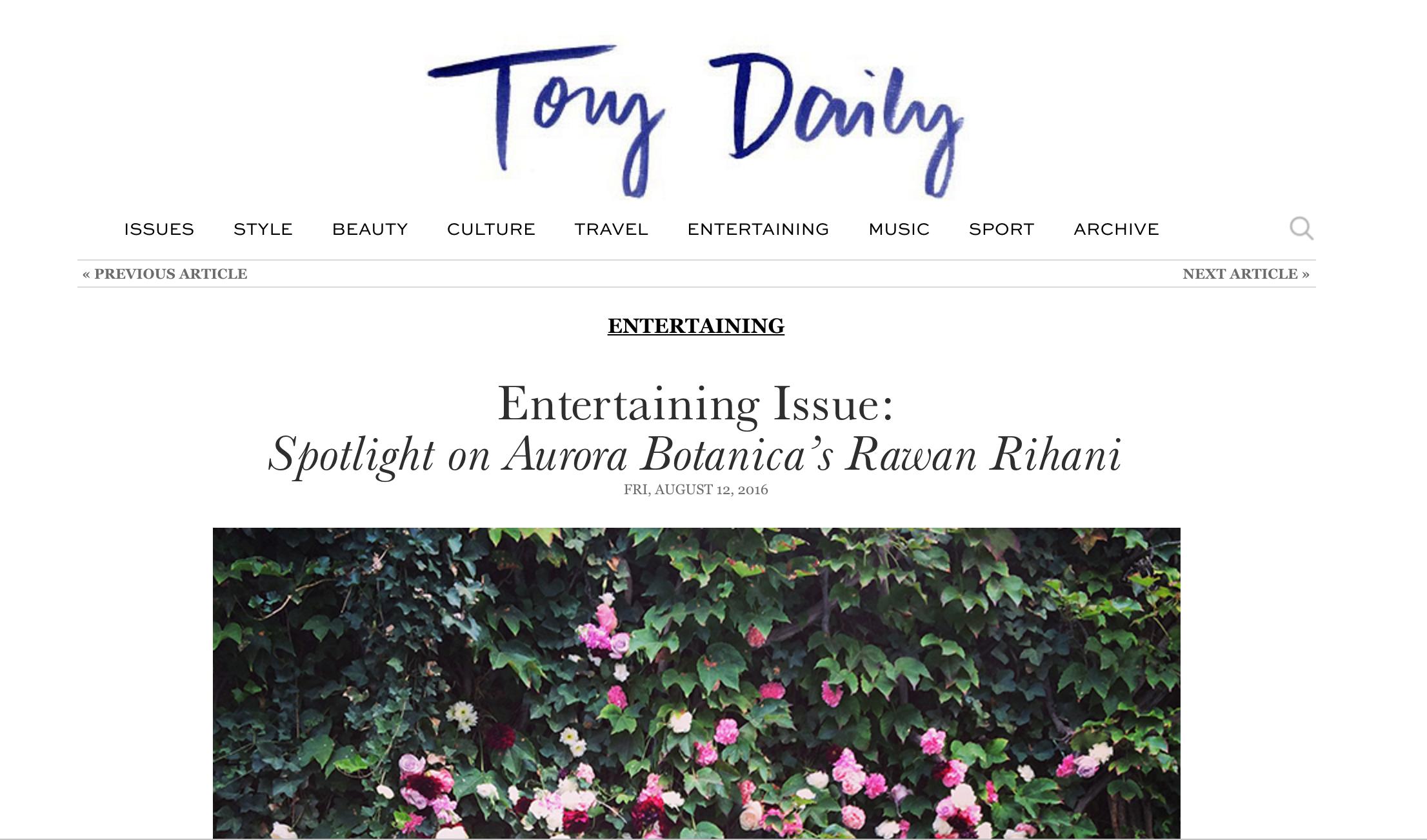 TORY BURCH BLOG
