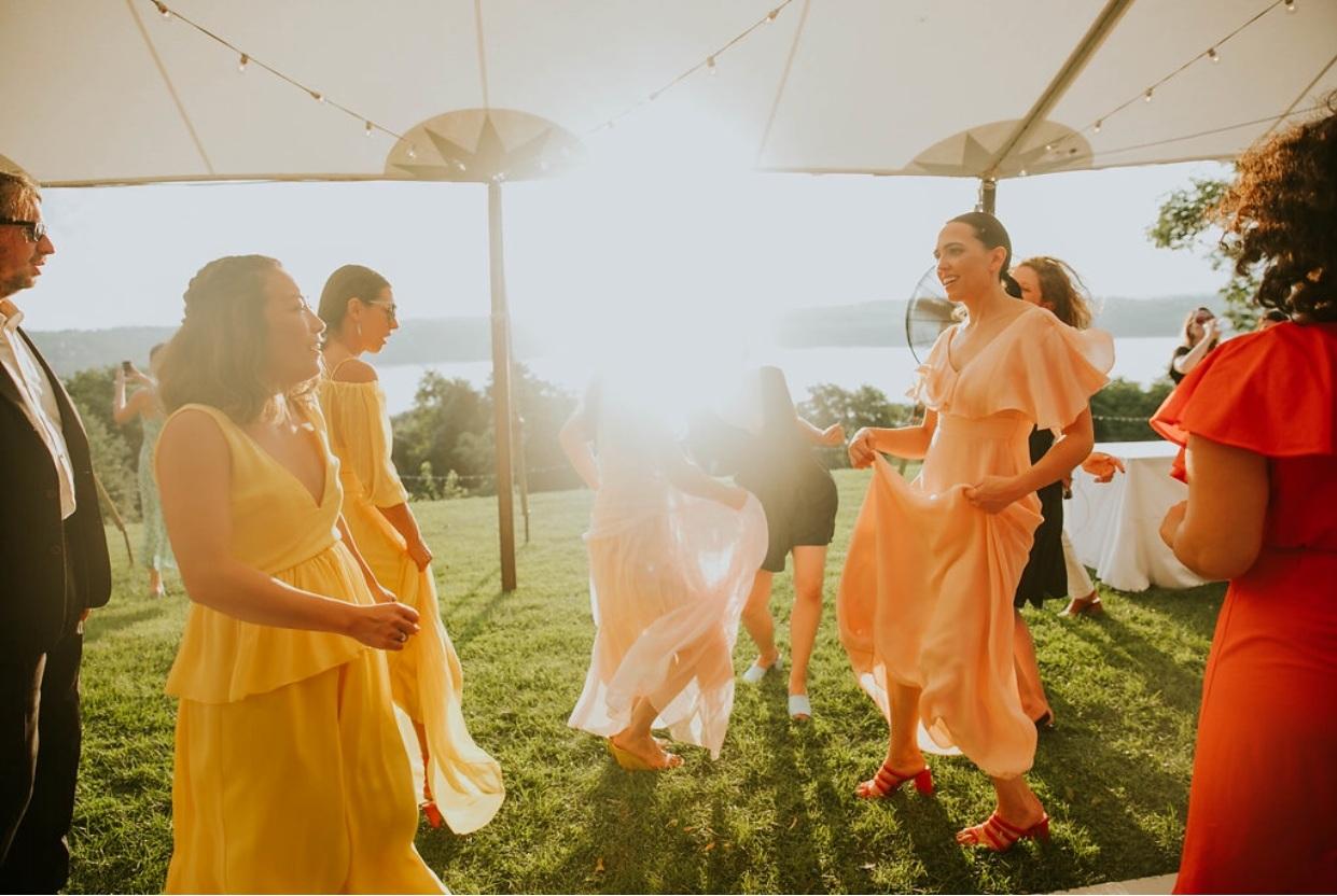 bridesmaids dresses photo by Nato Tuke Weddings