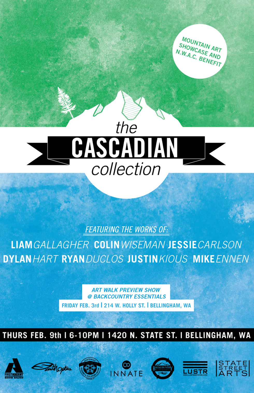 Cascadian Collection Even Poster