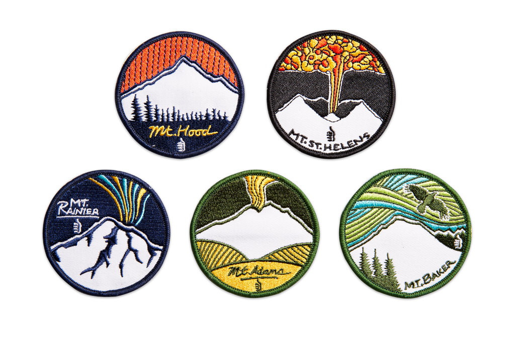 Ode to Volcanoes Patches
