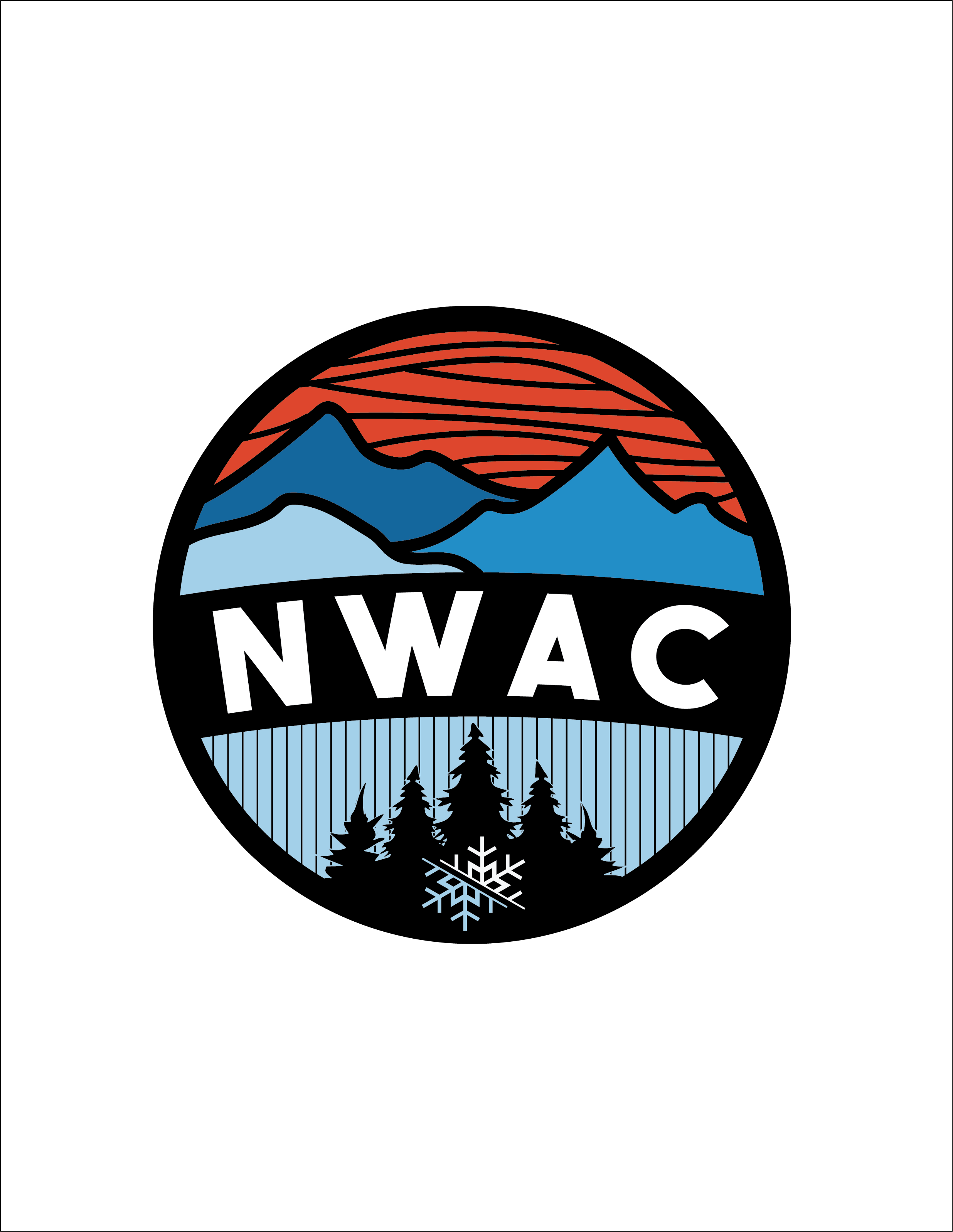 NWAC 2018 Embroidered Patch