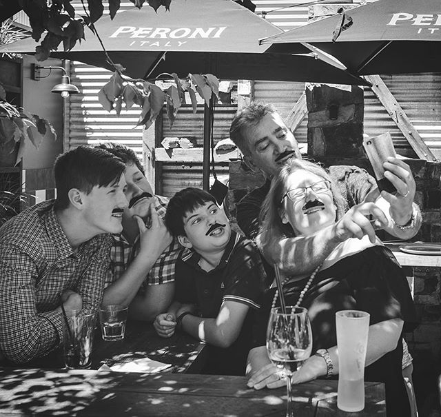 When you're such a cool FATHER that the whole fam wants to BE YOU ~ 👨🏻👨🏼👨🏽(yes I resisted writing 5 moustache puns just then...you're welcome)  #fathersday #adelaide #parenting #family #father #dad #partyitup #salifestyle #instamood #event #saevent #saracens #theadelaideset