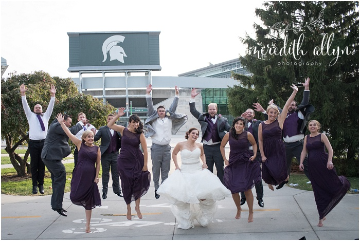 Michigan State University Wedding