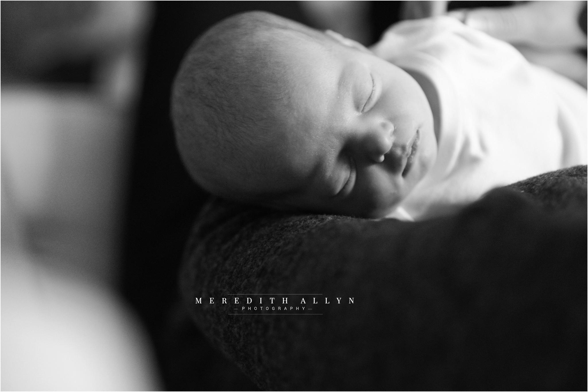 meredith allyn photography ann arbor newborn