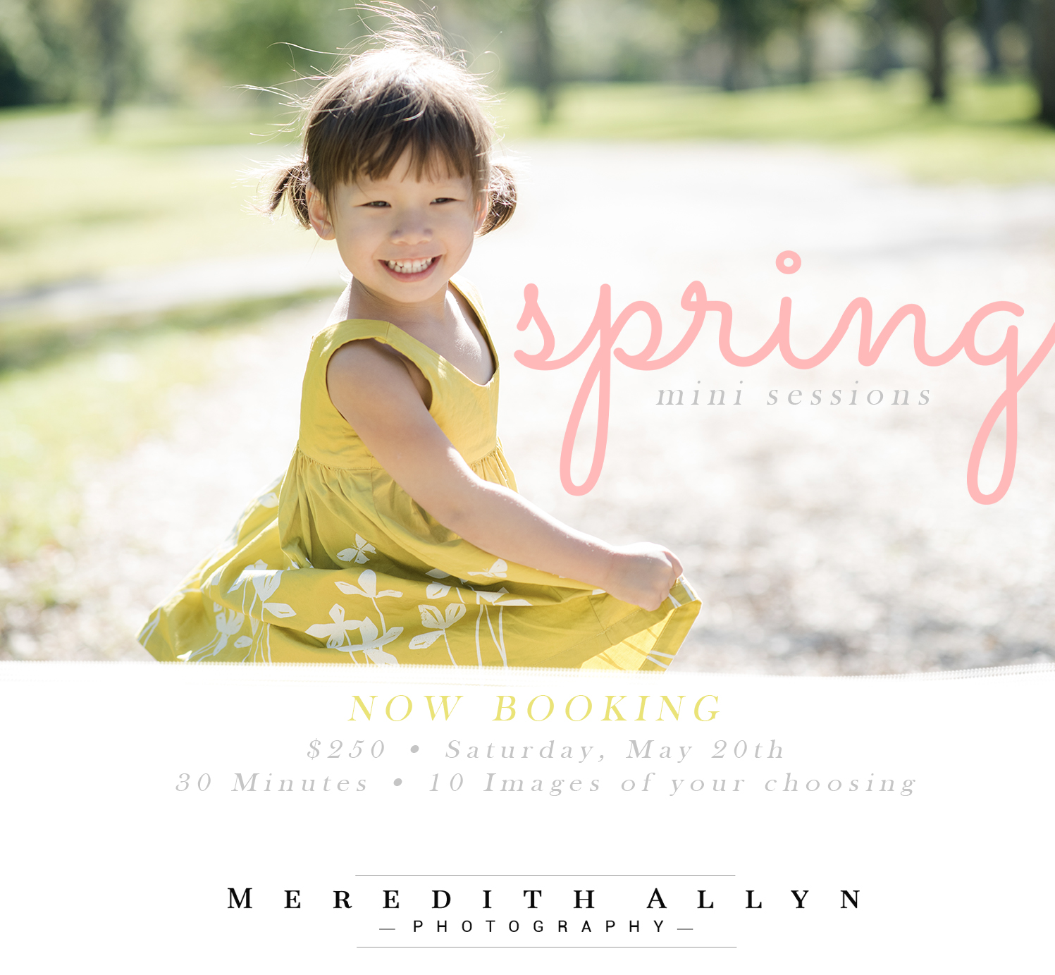 ann arbor spring mini session