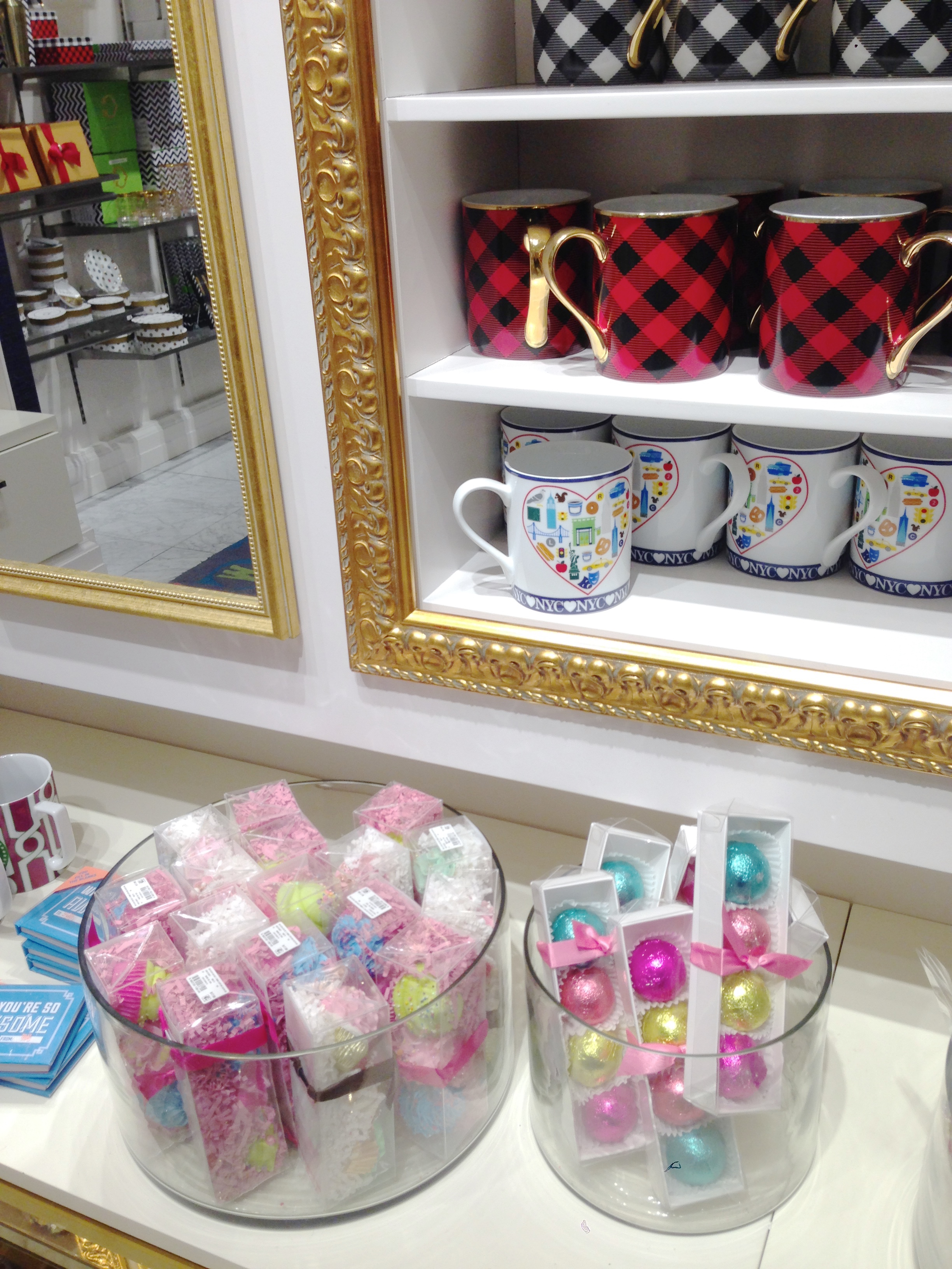 Bath Fizzies and mugs - ready for gifting