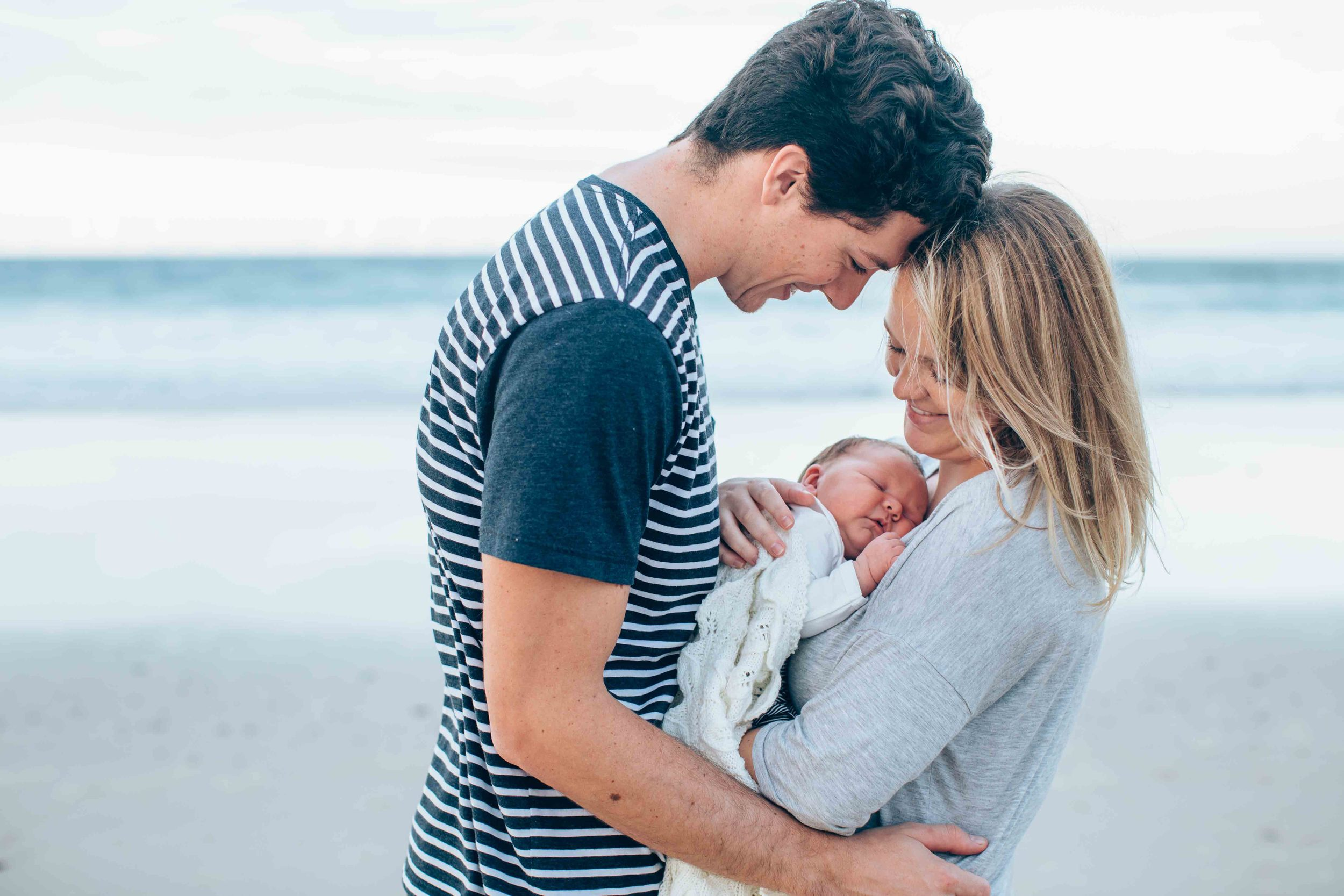 Bek, Phil & Baby Shalize