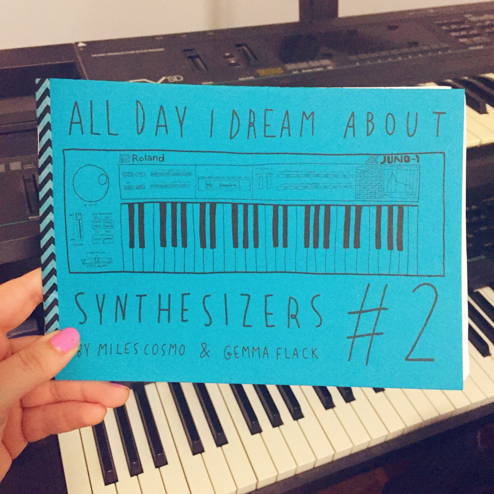 All Day I Dream About Synthesizers #2