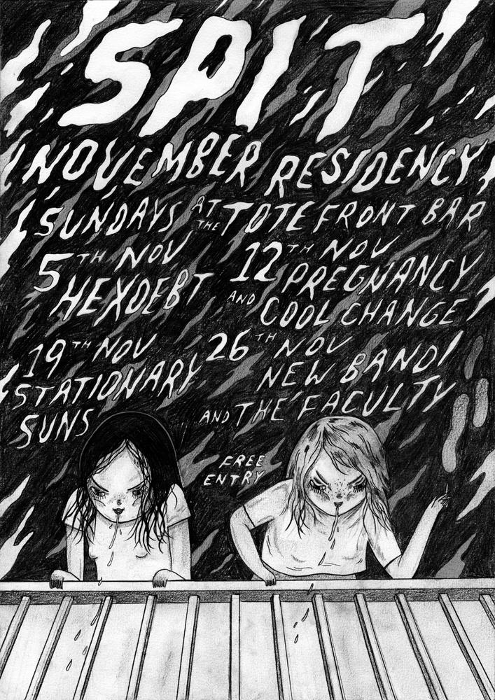 SPIT residency poster