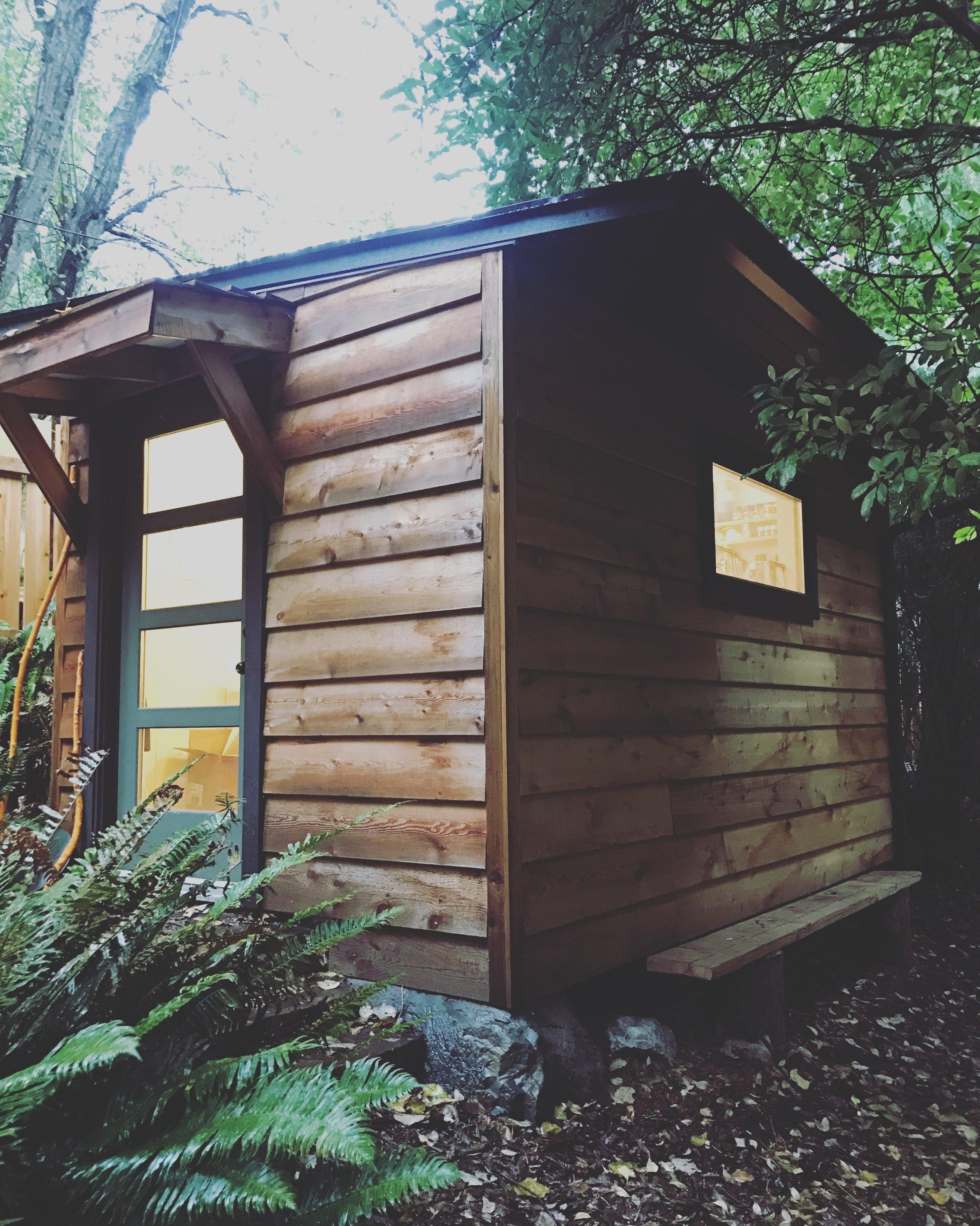 Studio on Bowen Island, BC