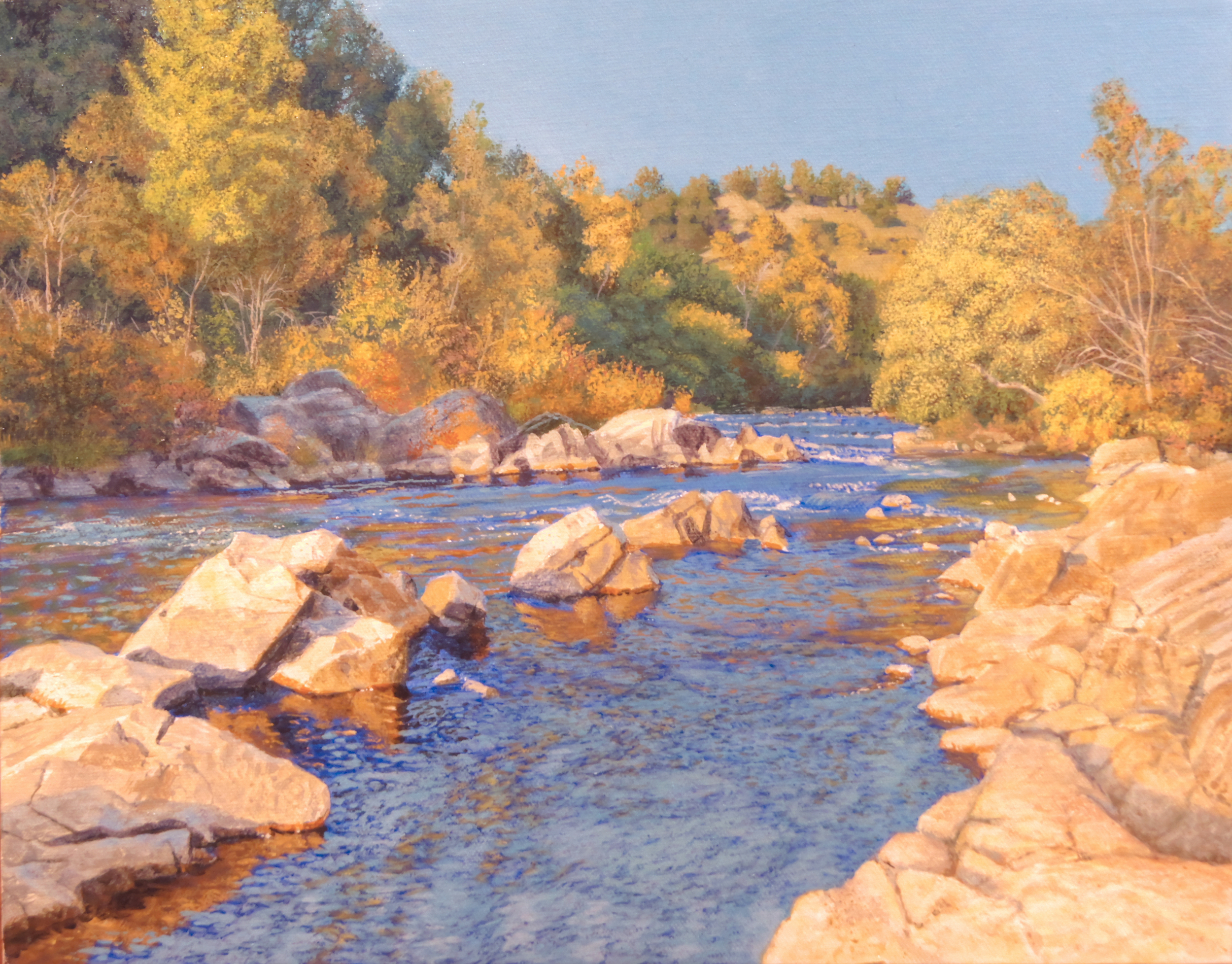The American River in Autumn