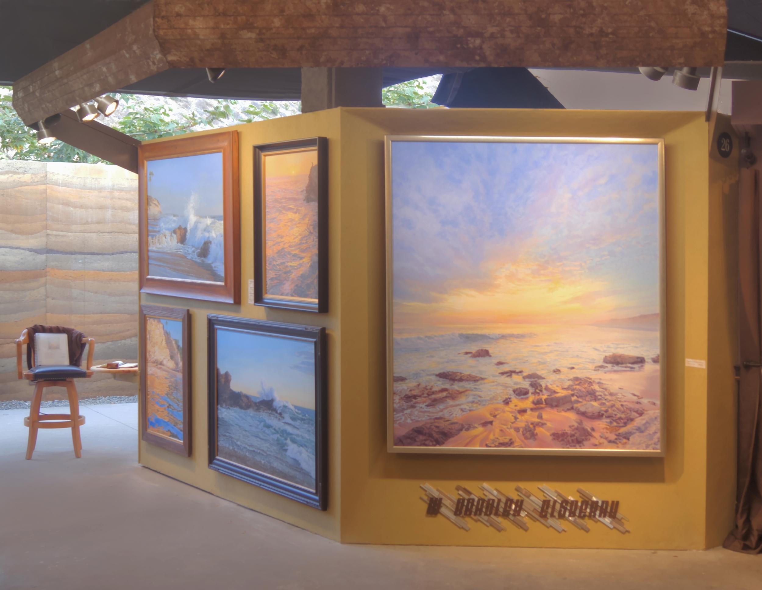 Festival of Arts W Bradley Elsberry Booth 2016