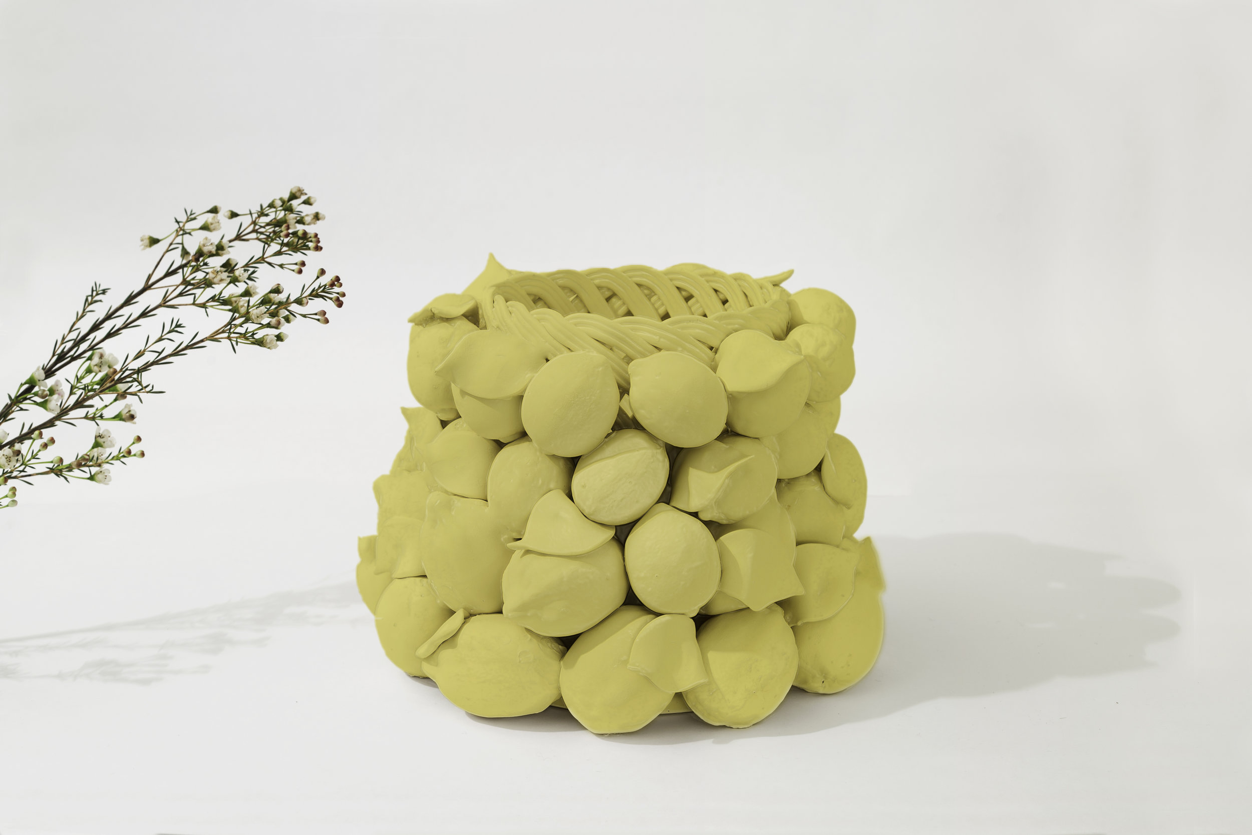 "INTRECCI  Giorgia Zanellato & Daniele Bortotto for Lanzarin Ceramiche    An homage to traditional ceramic manifacturing techniques Intrecci by Zanellato and Bortotto symbolizes a historic shift in the production of ceramic fruit baskets that, similar to the work of Caravaggio, uses inanimate objects as message bearers. The piece is the result of a collaboration with Lanzarin Ceramiche, a workshop renowned for its use of a rare technique exclusive to the Veneto region, 'a fettucia.' ""We started with a series of sketches before moving onto the repertoire of classical pieces. The final result is the culmination of many attempts and prototypes, realized in close collaboration with the ceramists who crafted the piece."" - Giorgia Zanellato and Daniele Bortotto Giorgia Zanellato and Daniele Bortotto met in Lausanne, Switzerland, where they both studied product design at ECAL. Zanellato/Bortotto Studio was founded in Treviso, Italy, in 2014. The pair have collaborated with several Italian and International brands and their work has been exhibited in galleries and museums worldwide."