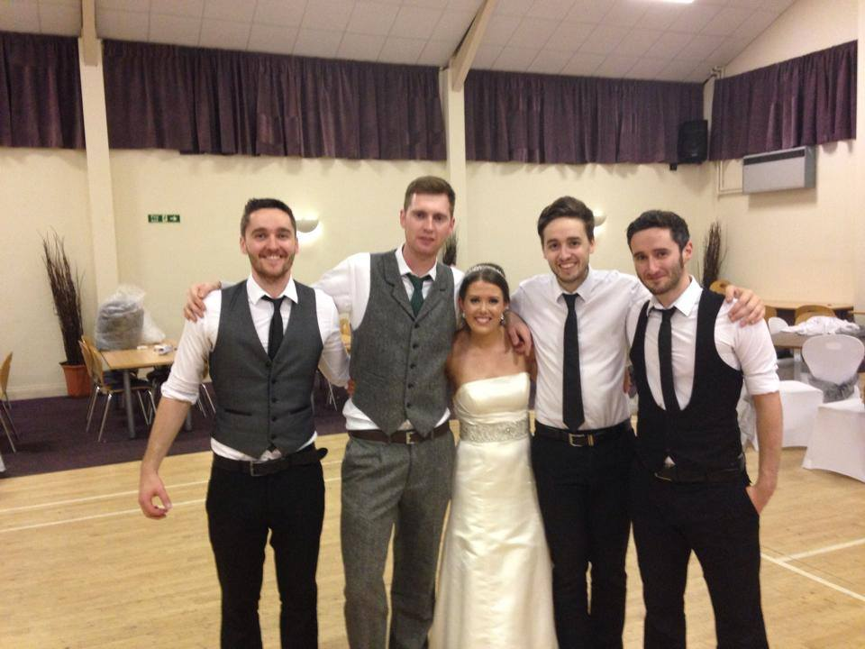 Thank you so much! You were absolutely fantastic! Everyone loved you! Great night x         Stephanie and Sean