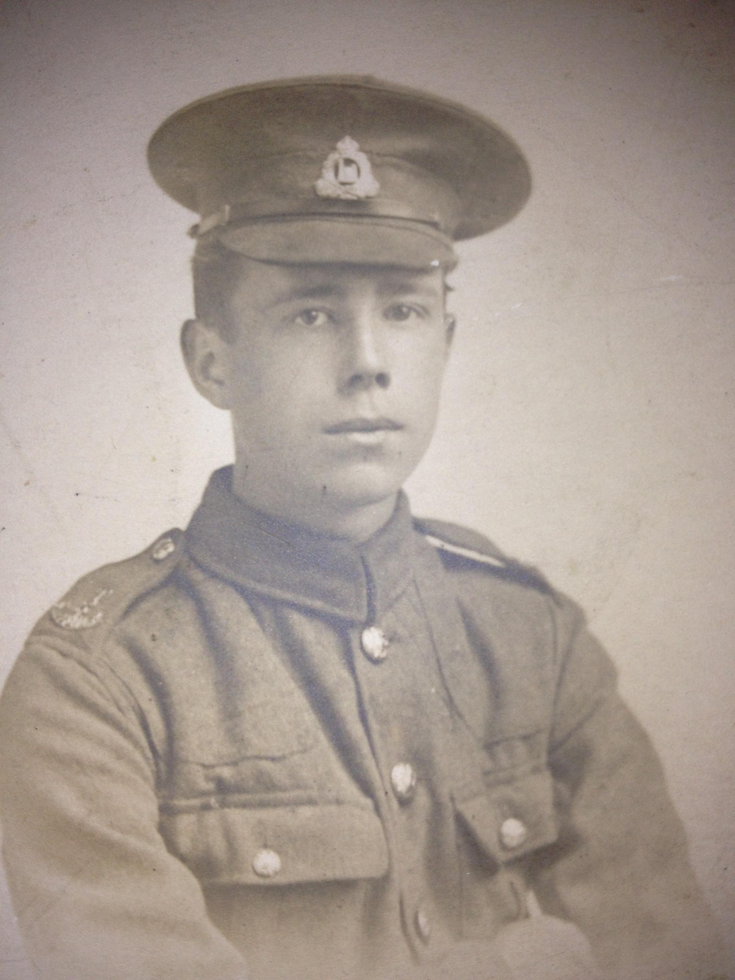 Private Charles Haddon Betts