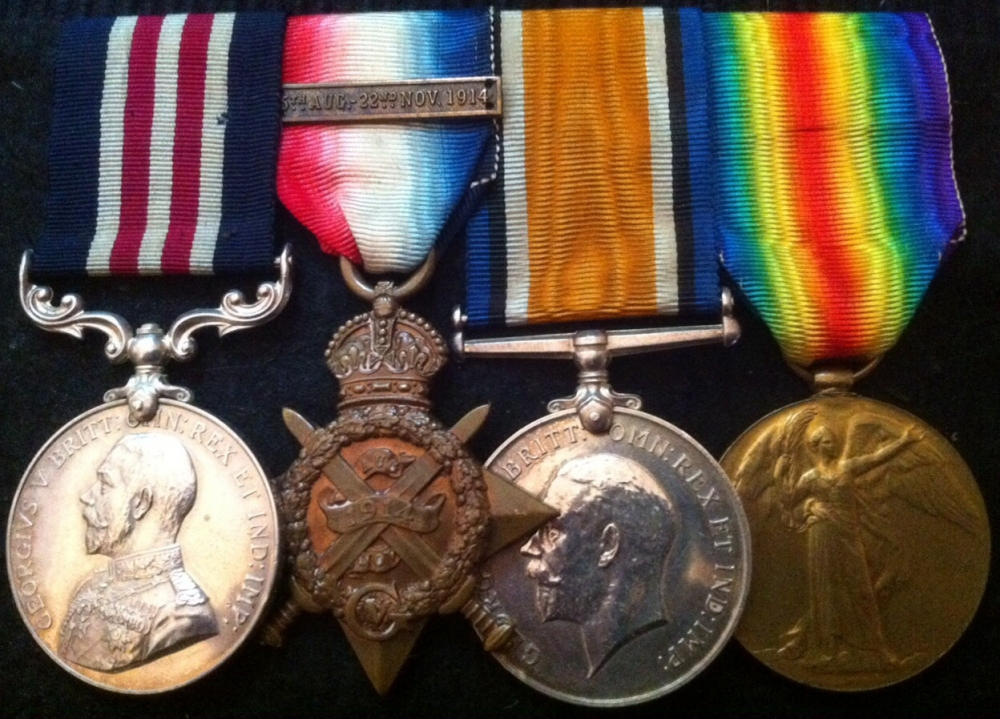 Lance Corporal Ward's Medals