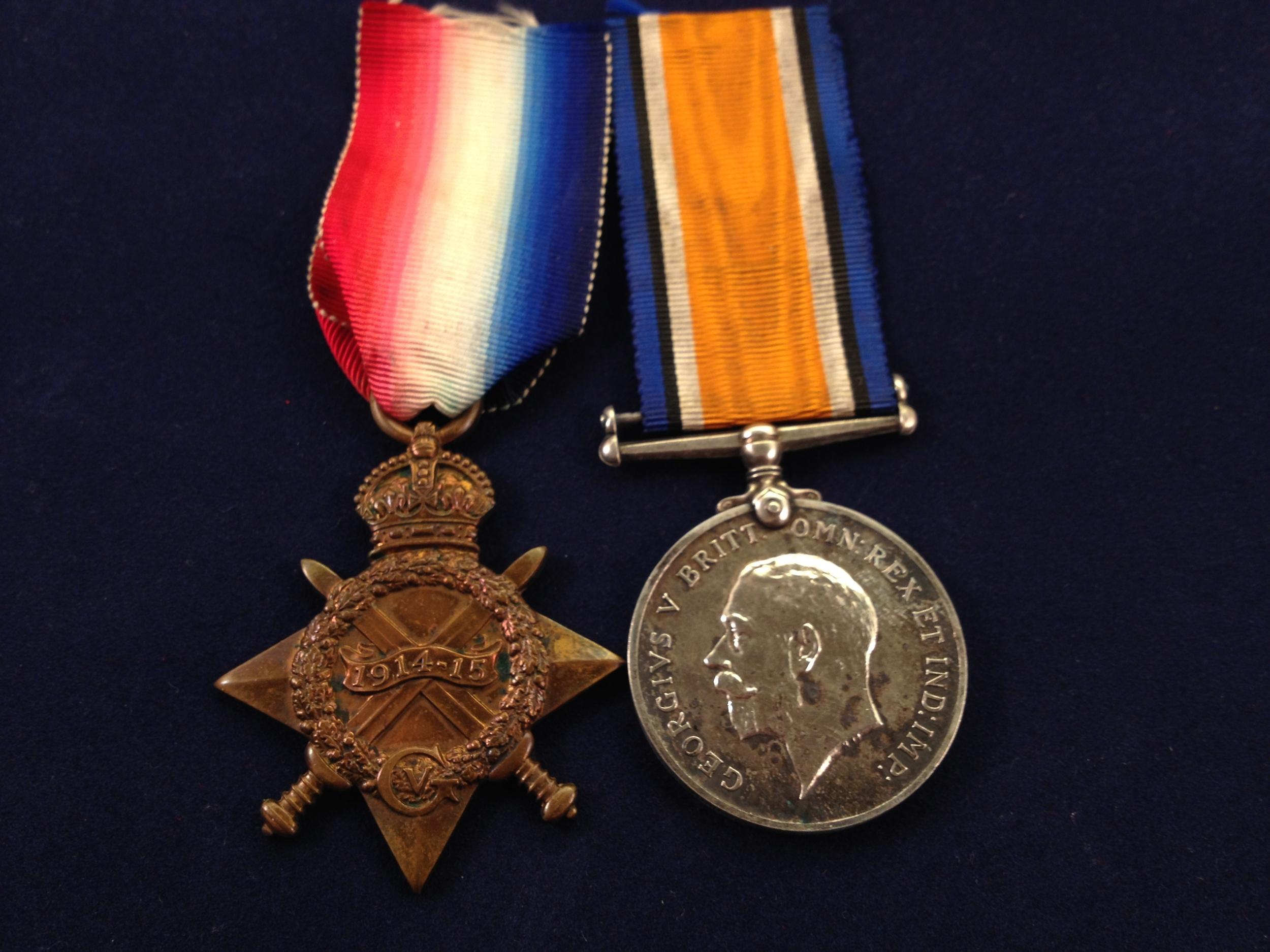 Herbert Chisnall medals 1.jpg